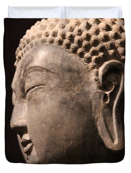 The Buddha 2 Duvet Cover by Lynn Sprowl
