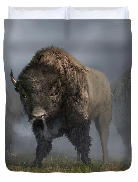 The Buffalo Vanguard Duvet Cover