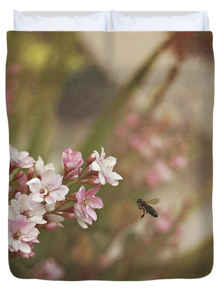 The Busy Bee Duvet Cover by Angela A Stanton
