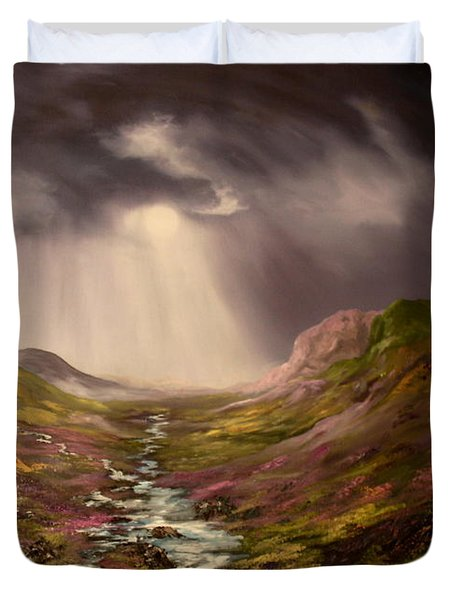 The Cairngorms In Scotland Duvet Cover