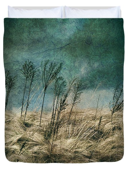 The Calm In The Storm II Duvet Cover