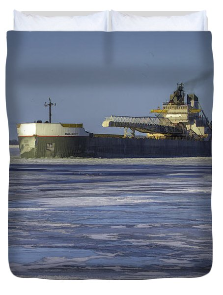 The Calumet Duvet Cover