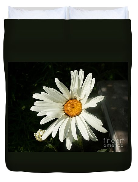 The Camomile Duvet Cover by Evgeny Pisarev