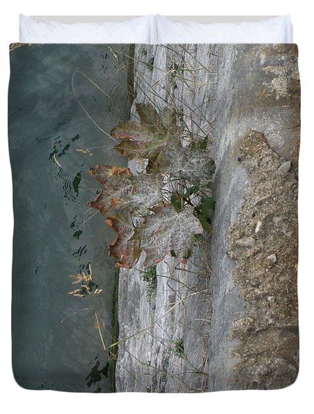 The Canal Water Duvet Cover by Brenda Brown