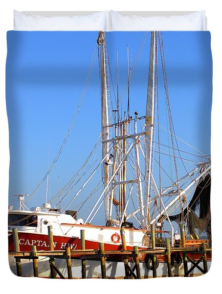 The Captain Hw Duvet Cover