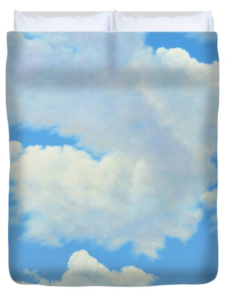 The Cardinal Duvet Cover by James W Johnson