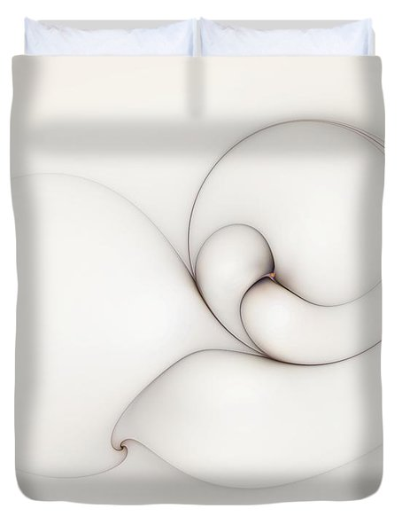 The Caress Duvet Cover by Casey Kotas