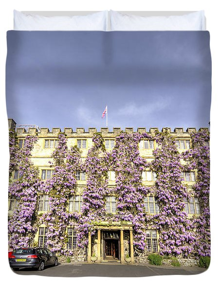 The Castle Hotel  Duvet Cover by Rob Hawkins