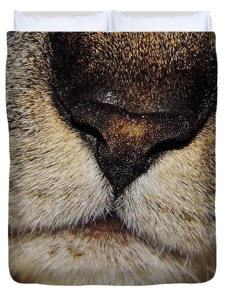 The - Cat - Nose Duvet Cover
