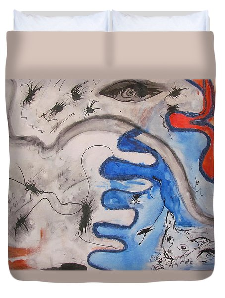 The Cat's Eye Duvet Cover