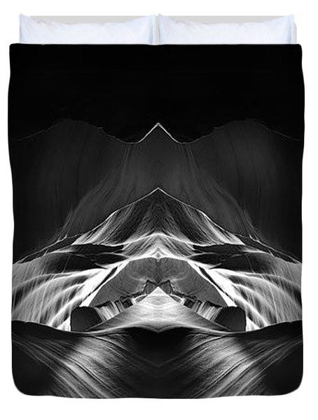 The Cave Duvet Cover by Adam Romanowicz
