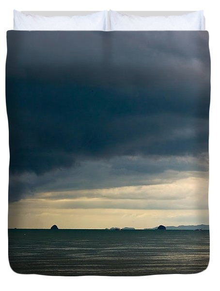 The Challenger Duvet Cover by Syed Aqueel