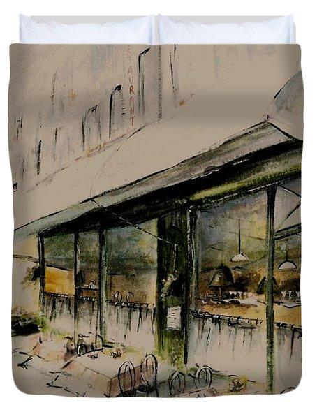 The Champs Elysees Duvet Cover