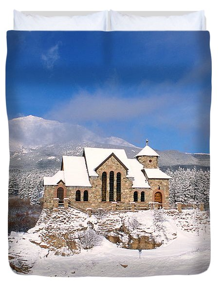The Chapel On The Rock 3 Duvet Cover by Eric Glaser