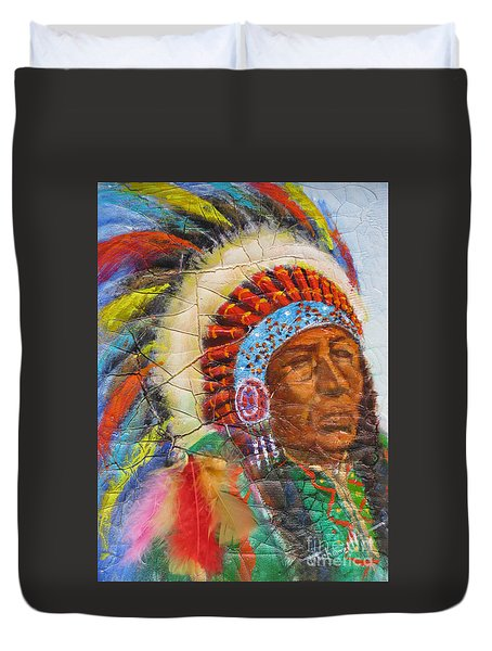 The Chief Duvet Cover by Mohamed Hirji