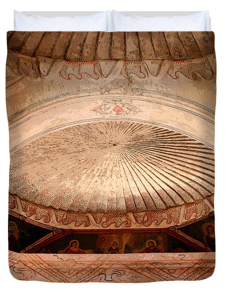 The Choir Loft Duvet Cover by Joe Kozlowski