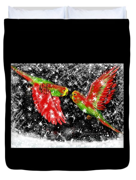 The Christmas Keets Duvet Cover