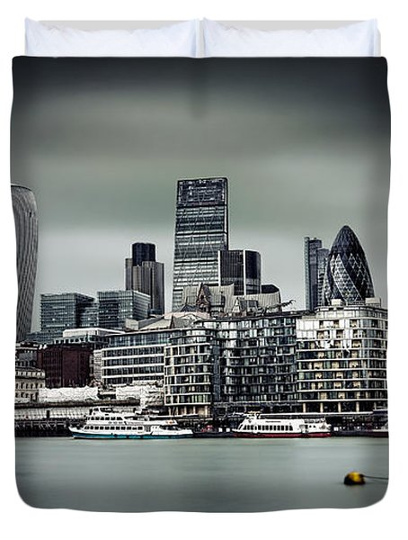 The City Of London Duvet Cover by Ian Good