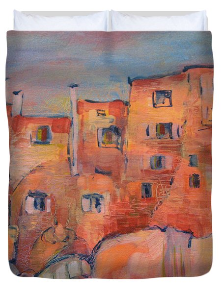 The City Walls Watch Duvet Cover