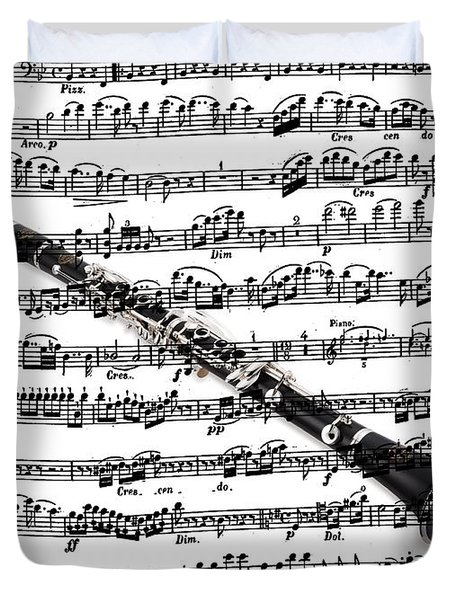 The Clarinet Duvet Cover