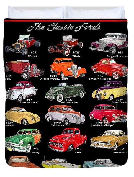 The Fords Shower Curtain Duvet Cover
