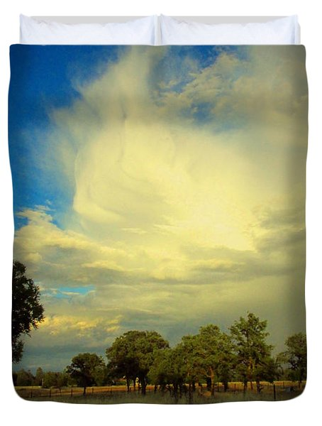 The Cloud Duvet Cover by Joyce Dickens