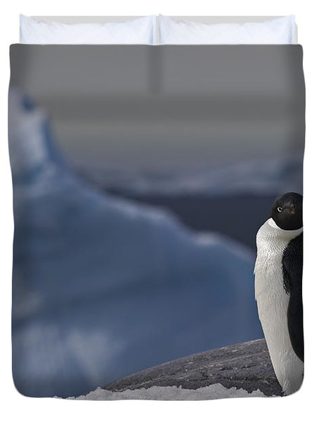 The Coldest Place On Earth... Duvet Cover
