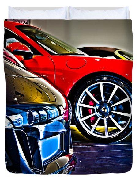 The Color Of Porsche Duvet Cover