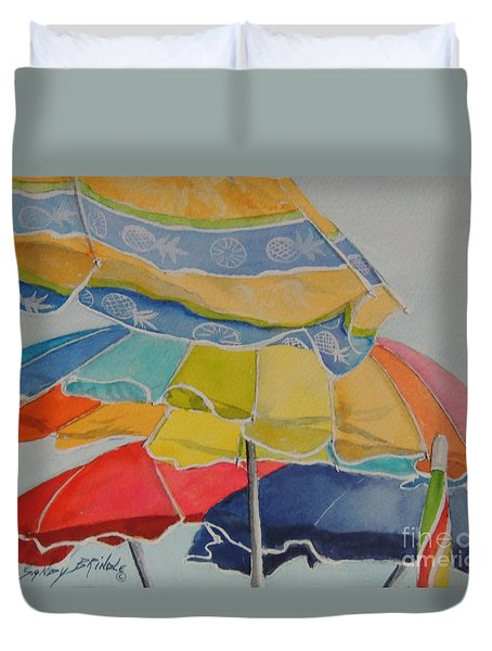 The Colors Of Fun.  Sold Duvet Cover