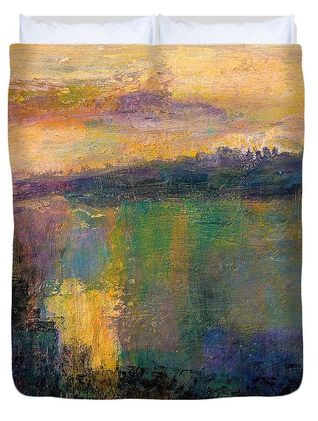 The Colors Of Hope - Art By Jim Whalen Duvet Cover