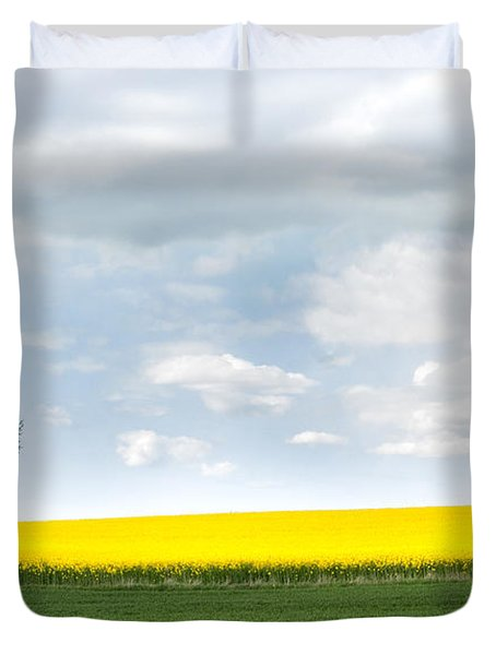 The Colors Of Spring Duvet Cover by Mike Santis