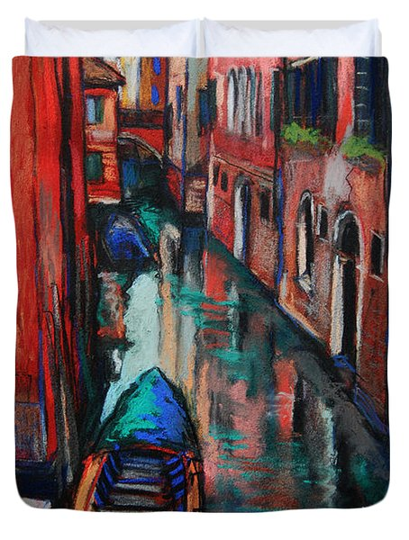 The Colors Of Venice Duvet Cover