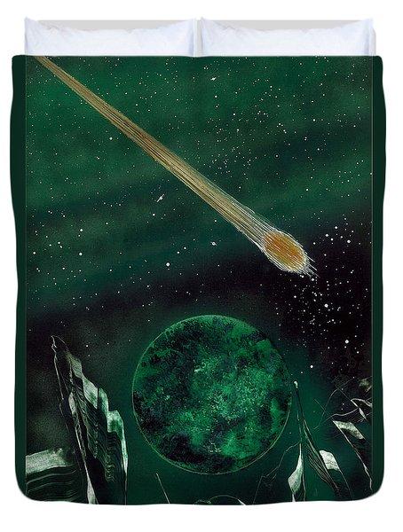 The Comet Duvet Cover