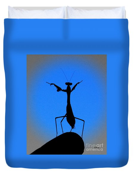The Conductor Duvet Cover by Patrick Witz