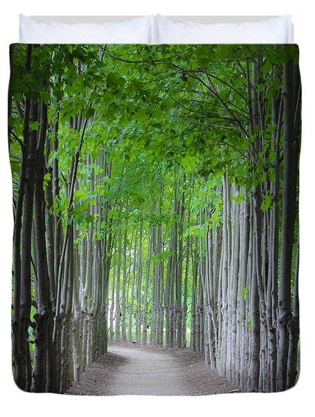 The Corridor Duvet Cover