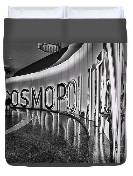 The Cosmopolitan Hotel Las Vegas By Diana Sainz Duvet Cover