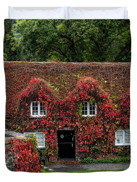 The Cottage Duvet Cover by Adrian Evans