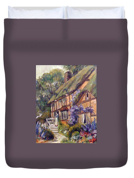 The Cottage Duvet Cover by Donna Tucker