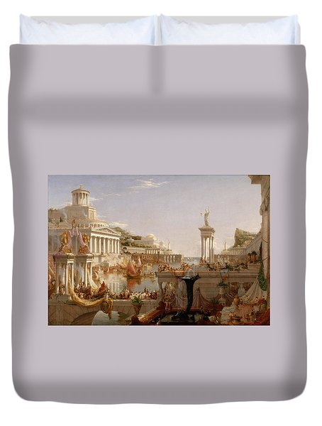 The Course Of Empire Consummation  Duvet Cover