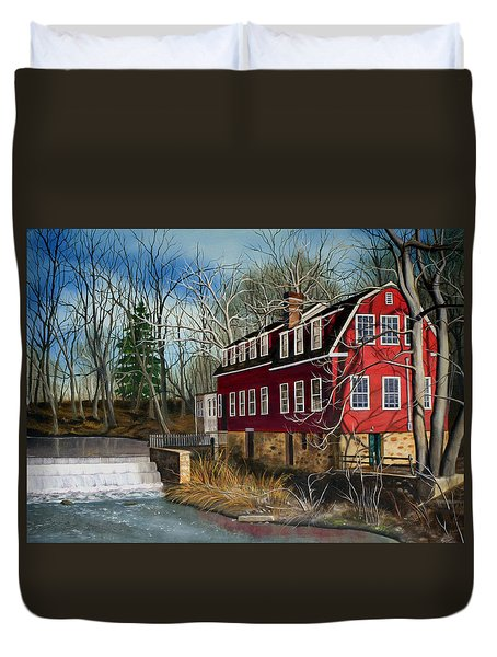 The Cranford Mill Duvet Cover