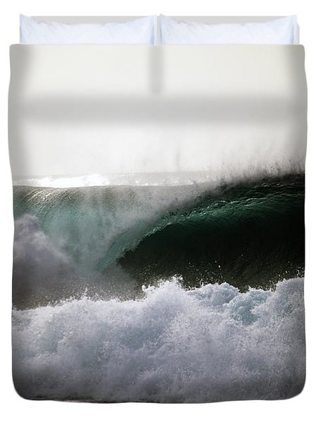 The Crash Duvet Cover