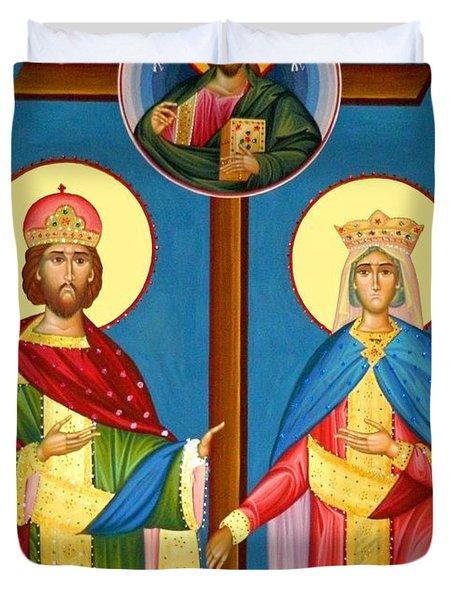 The Cross Icon Duvet Cover
