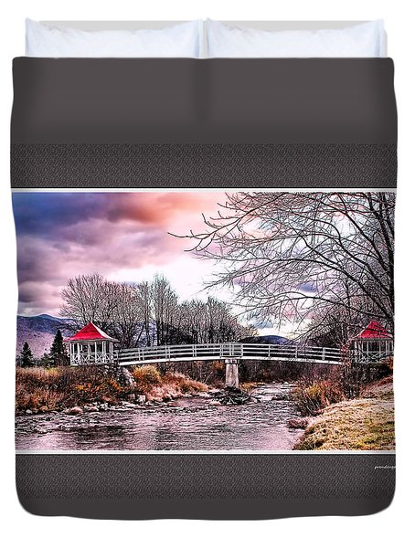 The Crossing II Brenton Woods Nh Duvet Cover