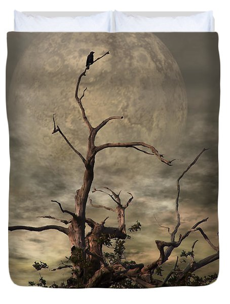 The Crow Tree Duvet Cover