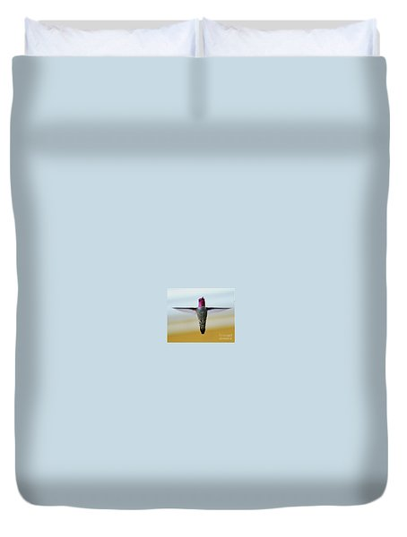 The Crucifixion Duvet Cover by Debby Pueschel