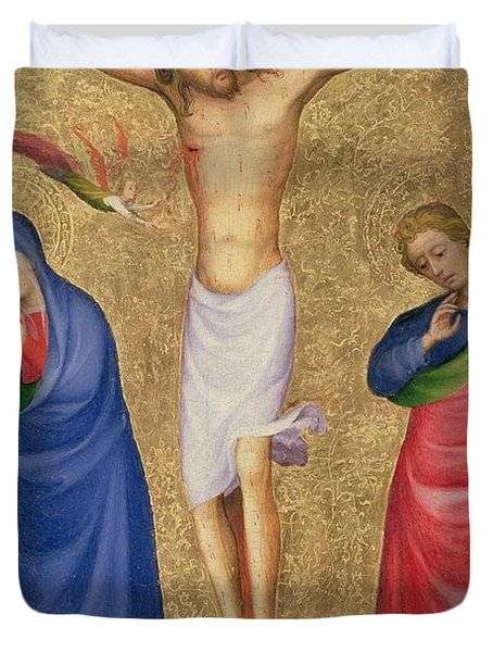 The Crucifixion Duvet Cover by Dutch School