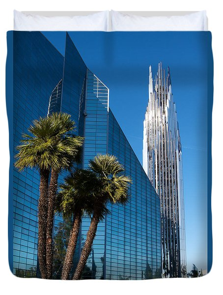 The Crystal Cathedral  Duvet Cover