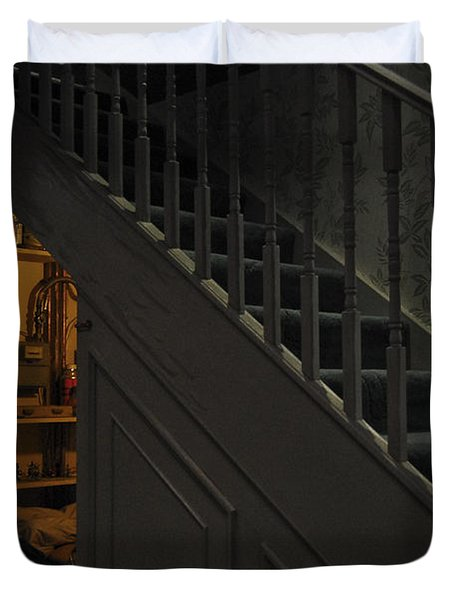 The Cupboard Under The Stairs Duvet Cover by Gina Dsgn