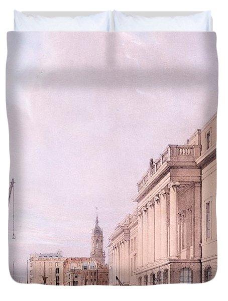 The Custom House, From London Duvet Cover
