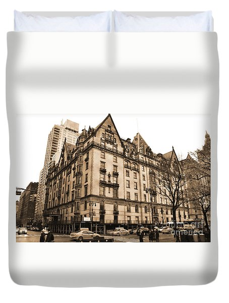 The Dakota Vintage Look Duvet Cover